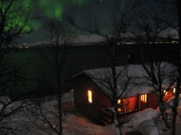 Solli under Northern Lights
